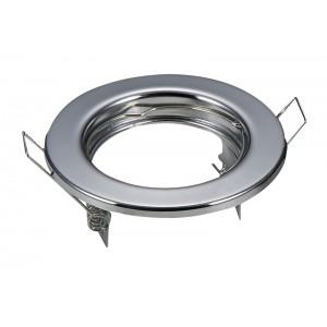Svietidlo podhľadové pevné chrom pre žiarovku MR,GU (2ks)