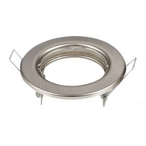 Svietidlo podhľadové pevné nikel pre žiarovku MR,GU (2ks)