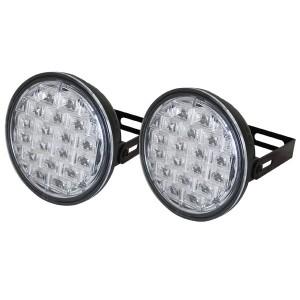 Svetlá pre denné svietenie LED DRL019 pir, homologácia