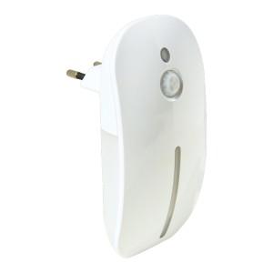 Nočné LED svietidlo s pohybovým a svetelným senzorom