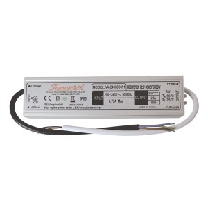 Zdroj spínaný pre LED diódy + pásiky IP66, 24V/60W/2,5A