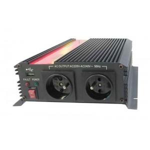 Menič napätia 12V/230V 1600W