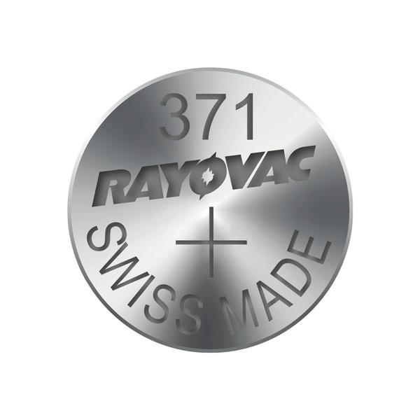 Gombíková batéria do hodiniek RAYOVAC 371