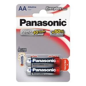Batéria AA (R6) alkalická PANASONIC Everyday Power LR6 2BP