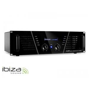 Zosilňovač IBIZA 2x800W AMP1000 čierny