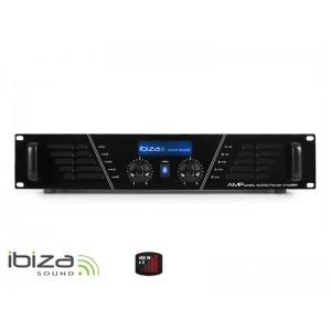 Zosilňovač IBIZA 2x480W AMP600 čierny