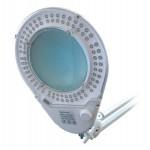 Lupa stolná guľatá (svorka) 8diop. LED (90x)