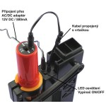 Stojanček DS-12 LED + vŕtačka AD-12