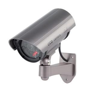 Atrapa kamery s IR LED vonkajšia KÖNIG SAS-DUMMYCAM30