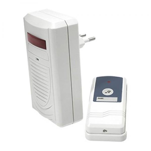 Domový bezdrôtový zvonček do zásuvky 230V, 433MHz