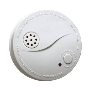 Požiarny hlásič a detektor dymu Hutermann F1 alarm EN14604 - JB-S01