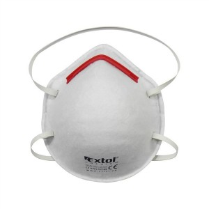 Respirátor - maska protiprašná FFP1, sada 5ks, tvarované, EXTOL PREMIUM