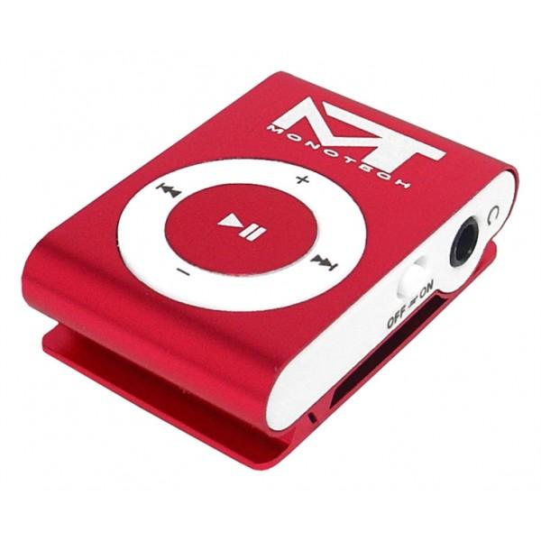MP3 prehrávač MonoTech ružový