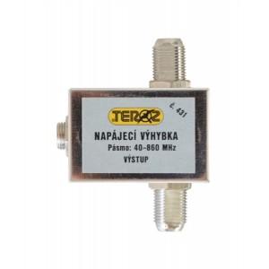 Anténa napájacia výhybka Teroz F-F s DC konektorem