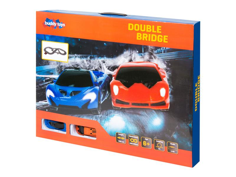Autodráha BUDDY TOYS Double BST 1441